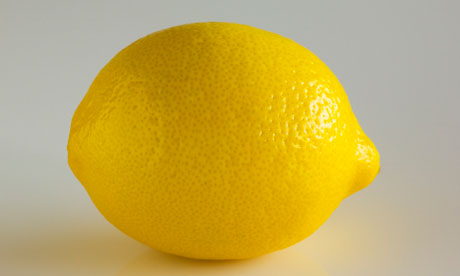 Close-up of Lemon