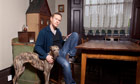 Steven Mackintosh photographed at his home in north London