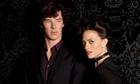 Benedict Cumberbatch and Lara Pulver in Sherlock.