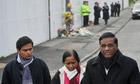 Murdered Student Anuj Bidve's Family Visit Manchester