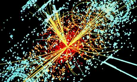 Cern particle detector