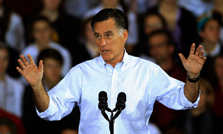 Defeated presidential hopeful Mitt Romney