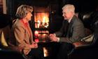 Anne Reid and Derek Jacobi as the belated lovers in BBC1's Last Tango in Halifax.