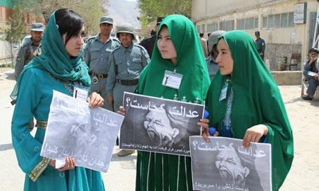 Young Women for Change (YWC) in Kabul.