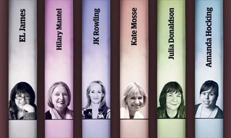 Women in publishing 2012