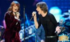 Florence Welch and Mick Jagger singing Gimmie Shelter at the O2 Arena