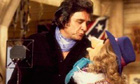 Johnny Cash with Miss Piggy on The Muppet Show in 1980.