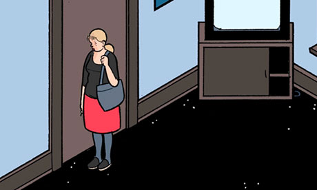 Chris Ware's iPad-only comic, Touch Sensitive