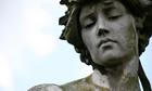 Stone angel, Brompton Cemetery