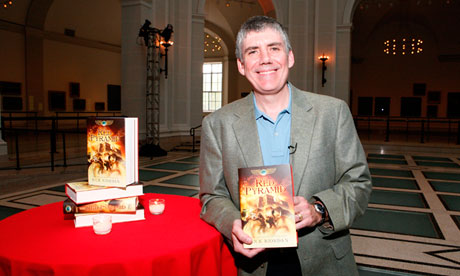 Rick Riordan photographed in Brooklyn