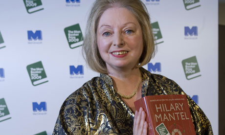 Hilary Mantel wins the Man Booker  for 'Wolf Hall'