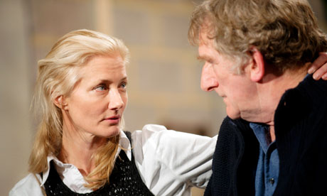 Joely Richardson in The Lady From the Sea at the Rose Theatre, Kingston