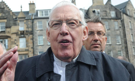 Reverend Paisley admitted to hospital