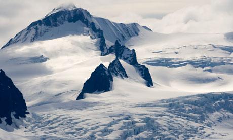 Glaciers Near Hallo Bay in Katmai National Park