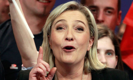 MARINE LE PEN aims to put bite on Nicolas Sarkozy with halal meat claim