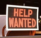 HELP WANTED SIGN for Family