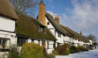 Wendover cottages in the snow