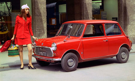 Mini, designed by Alec Issigonis, 1959