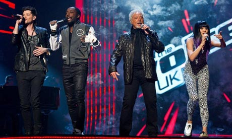Tom Jones and Jessie J, judges of The Voice UK