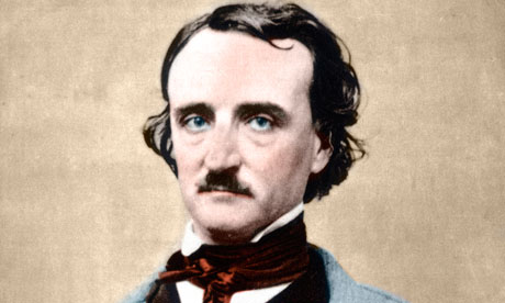 Portrait of Edgar Allan Poe, 1809-1849.