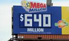 Winners share US lottery jackpot