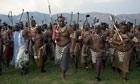 Swaziland Umhlanga Festival