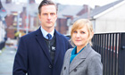 Nicholas Gleaves and Lesley Sharp in Scott & Bailey