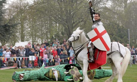 Saint George's Day in England