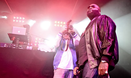 Rick Ross Performs In London