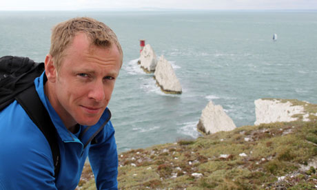 Andy Torbet at the Needles in Coast