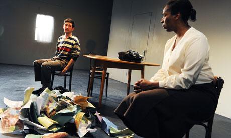 Timothy O'Hara and Tanya Moodie in Chair at Lyric Hammersmith, London