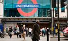 Entrance to the London tube at Brixton