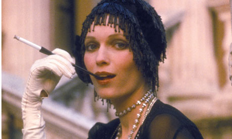 Money, money, money &amp; Mia Farrow in the 1974 film of The Great Gatsby. 