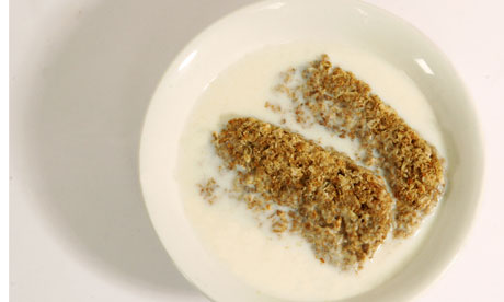 Everything too late and nothing is done working the cereal is weetabix