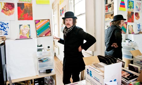 Martin Creed Guardian Interview