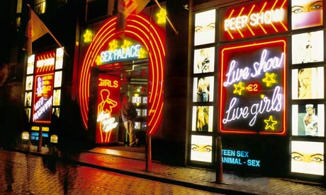 Amsterdam's red light district