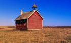 Schoolhouse on a Prairie