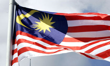 PETRONAS TWIN TOWER NATIONAL FLAG