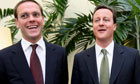 David Cameron and James Murdoch