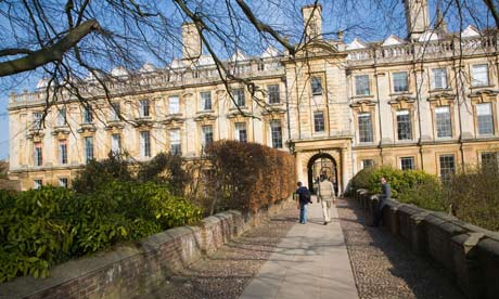 International Business clare college cambrdige