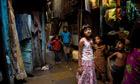 Slumdog Millionaire star Rubina Ali pictured in the Bandra slum where she lives with her family.