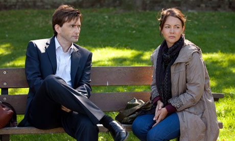 David Tennant and Lacey Turner in the first part of True Love