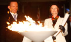 Julia Gillard Lights Beacon For Queen's Jubilee