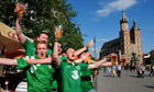 Soccer - Republic of Ireland Fans - Krakow