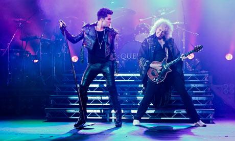 Queen and Adam Lambert perform