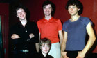 Talking Heads photographed in 1978.
