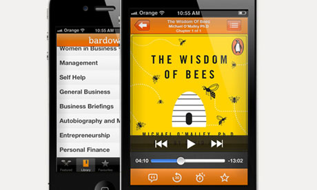 Bardowl on an iPhone