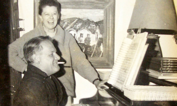 Lawrence Durrell And Peggy Glanville Hicks A Song For