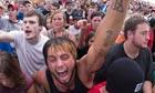 Revellers at the Rock the Desert Christian music festival in Midland, Texas