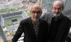 Alan Yentob and Salman Rushdie at Ground Zero in BBC1's Imagine… The Fatwa – Salman's Story.
